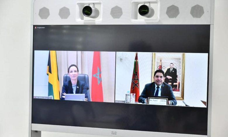 ناصر بوريطة يتباحث مع نظيرته الجامايكية - 7News - المغرب